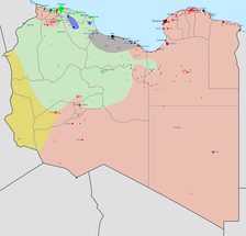 Military situation in Libya in early 2016: Ansar al-Sharia  ISIL