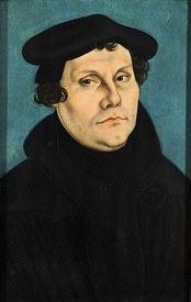 Martin Luther (1483–1546) initiated the Protestant Reformation.