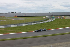 Sørensen during Race 1 of the 2014 Formula Renault 3.5 Series season at Moscow Raceway.