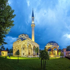 Ferhat Pasha Mosque, after it was reconstructed in 2016