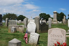 Common Burying Ground and Island Cemetery in Newport, Rhode Island