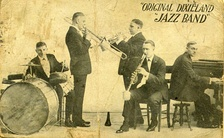 The Original Dixieland Jazz Band, with Henry Ragas on piano.