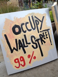 "With its rhetoric of ""the 99%"" (the people) against ""the 1%"" (the elite), the international Occupy movement of the early 2010s was an example of a populist social movement"