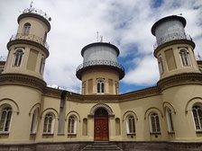 The oldest observatory in South America is the Quito Astronomical Observatory, founded in 1873 and located in Quito, Ecuador. The Quito Astronomical Observatory is managed by the National Polytechnic School.[116]