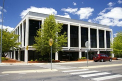 Reserve Bank of Australia in Canberra