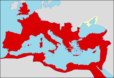 The Roman Empire during the reign of Caracalla