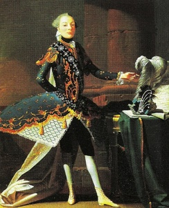 The castrato Carlo Scalzi, by Joseph Flipart, c. 1737.