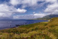 Пейзаж острова