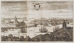 Chalcography of the city of Vyborg at the turn of the 17th and 18th centuries. The year 1709 carved on the printing plate.