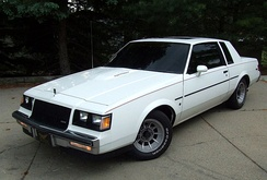 1987 Regal T Turbo with rare blackout WO2 trim package