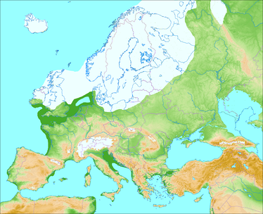 Europe during the last glacial period