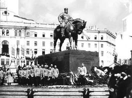Открытие памятника Александру III 23 мая 1909 года