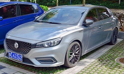 The MG 6 currently produced in China