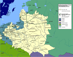 Operations of Russian army on Polish-Lithuanian territory, 1756–1763