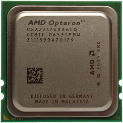 AMD Opteron 2212 Processor, Dual Core 2GHz, Socket F