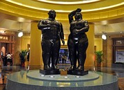 Work of the painter, and sculptor Fernando Botero