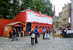 Box Office for the Assembly, George Square venue, 2013