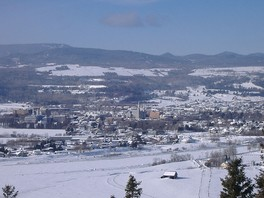 Baie-Saint-Paul during winter