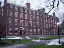 Hope College, built 1821-22 in late Federal style, was named for Hope Brown Ives, sister of Nicholas Brown, Junior, and was the first purpose-built residence hall at Brown