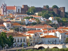 The city of Silves, the first capital of the Algarve and an example of the noticeable Moorish influence in the region