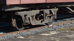 Commonwealth bogie as used on BR Mark 1 and CIE Park Royals