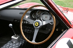 Interior of 250 GTO (chassis 3647GT)