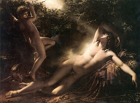 The Sleep of Endymion (Le Sommeil d'Endymion or Effet de lune), 1791, Louvre