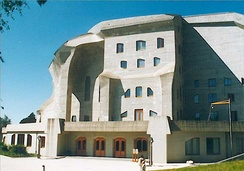 Goetheanum by Rudolf Steiner in 1923