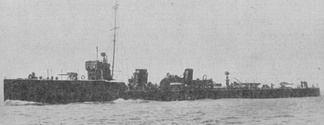 HMS Badger was the first destroyer to successfully ram a submarine