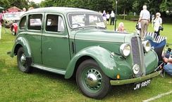Hillman Minx Magnificent, 1937