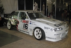 Percy managed and drove for the Holden Racing Team in 1990