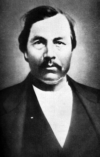 Jackson McCurtain, Lieutenant Colonel of the First Choctaw Battalion in Oklahoma, CSA.