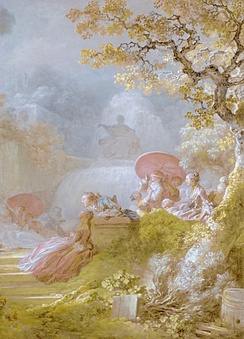Jean-Honoré Fragonard, Blind Man's Bluff, 1775–1780
