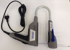 Режущий узел стационарного электролобзика Dremel Moto Saw в качестве ручного инструмента