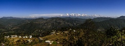 Himalayan view from Kasar Devi, Almora