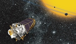Artist's impression of Kepler
