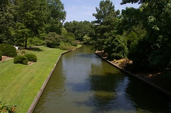 Canal at the Norfolk Botanical Garden