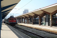 Train station in Sarajevo