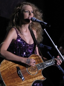 "Taylor Swift has four singles on the chart -- three as a main artist and one as a featured artist. ""Mine"" is her highest-charting single at 46."