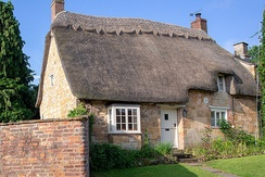 Thatched roof, England