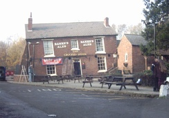 'The Crooked House', Himley, is known for the extreme lean of the building, caused by subsidence produced by mining