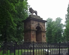 Sebastopol Monument, Halifax, Nova Scotia – the only Crimean War Monument in North America