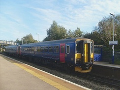 A pair of First Great Western refurbished Class 153 No. 153368 and No. 153305 at Filton Abbey Wood