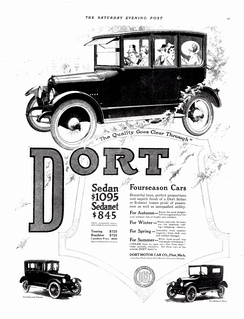 1918 Dort sedan and sedanet