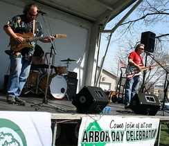 Arbor Day community festival in Rochester, Minnesota