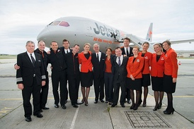 The aircrew of a Jetstar Airways Boeing 787