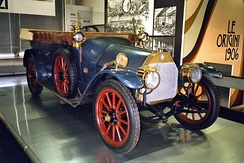 The A.L.F.A 24 hp (this is with Castagna torpedo body) was the first car made by Anonima Lombarda Fabbrica Automobili (A.L.F.A) in 1910.