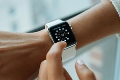 The Apple Watch quickly became the best-selling wearable device, with the shipment of 11.4 million smart watches in the first half of 2015, according to analyst firm Canalys.[231]