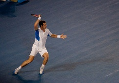 Murray reached his second Grand Slam Final in Australia