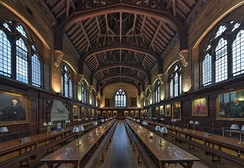 A historical example: Balliol College Dining Hall, Oxford